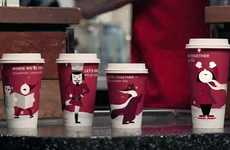 Caroling Coffee Cups