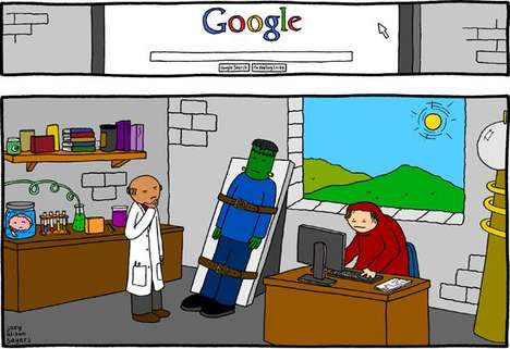 Search Engine Creativity Challenges - Google Search Caption Contest Seeks Humor & Insight