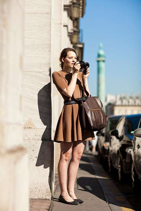 Female Photographer Street Style