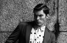 Polka Dotted Menswear - The Colt Maldonado by Alex Alvarez Portrait Series Features Modernized Suits