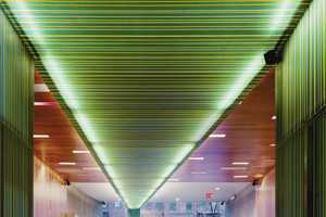 Xing Restaurant Features a Cool Layered Acrylic Ceiling