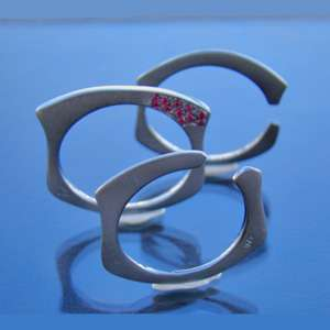 Bar Rings modern jewelry