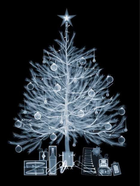 Nick Veasey Christmas Tree