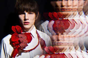 The Luke Worrall for The Ones to Watch Editorial is Kaleidoscopic