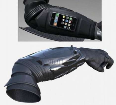 ArmStar BodyGuard iPhone dock