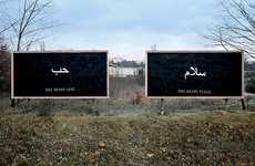 Emotional Inclusive Billboards - Peter Fuss Wants to Change World's Stereotypes About Religion