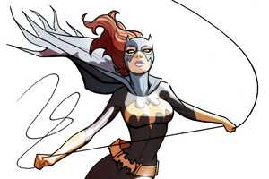 Marcio Takara Draws Lady Crime Fighters with Impossible Curves