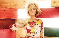 The Max Mara Studio Spring/Summer 2012 Ad Campaign Showcases Crazy Coifs