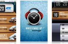 Alarming Winter Apps - The Winter Wake-Up App Gets You Up Earlier When it Snows