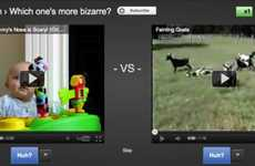 Competitive Viral Video Viewing - 'YouTube Slam' Puts Clips Head-To-Head to Find the Best