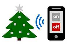 Remote Control Christmas Trees