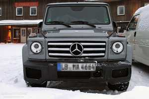 A Sneak Peak at the Rugged Mercedes G65 AMG