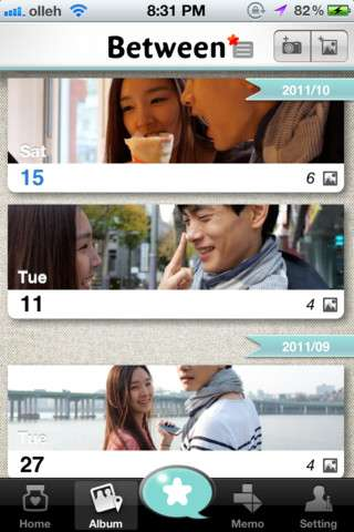 Secretive Couple Apps - The Between App Gives Couples a Safe Place to Share Their Love On the Go
