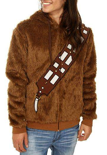 Star Wars Chewbacca Furry Zip Hoodie
