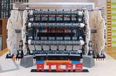 Toy Brick Atom Smashers - The LEGO Large Hadron Collider Makes Science Fun