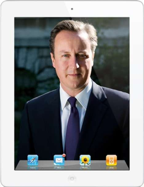 David Cameron iPad app