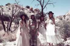 Cowgirl Couture Fashion - The Spring/Summer Wildfox Couture Lookbook is Wild & Western