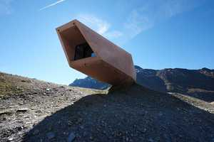 The Timmelsjoch Museum is Gravity-Defying Architecture