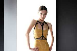 The Herve Leger Pre-Fall 2012 Collection is Sharp and Chic
