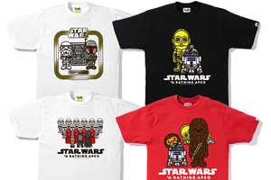 A Bathing Ape x Star Wars Delivers the Second Installment of Shirts