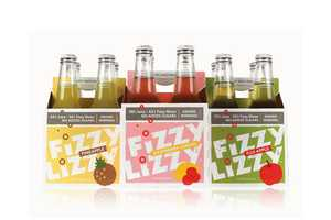 The Fizzy Lizzy Packaging is Carefree and Playful