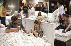 Furniture Store Slumber Parties - IKEA Sleepover Offers Fans a Night of Fun & Pampering