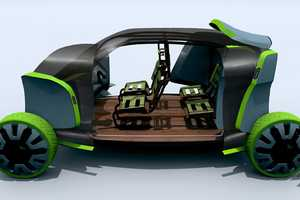 The 2+ Ultimate City Vehicle is an Urban EV With an Informal Interior