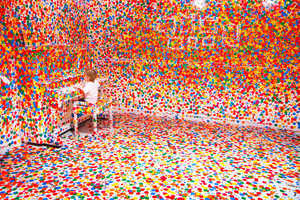 The Obliteration Room by Yayoi Kusama Targets Color-Loving Kids