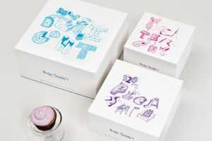 Sugar Daddy's Cupcakes Packaging Animates Each Sweet in a Word