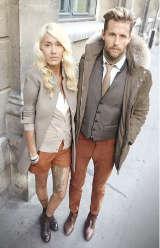 Stylish Couples Fashion Ads