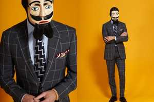 The P. Johnson Tailors Lookbook Features Freaky Men in Fantastic Suits