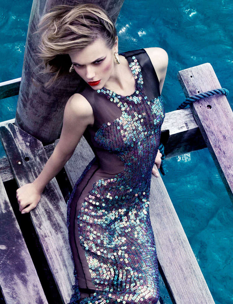 Sequined Seaside Ensembles