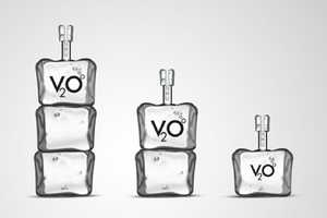 V2O Vodka Packaging Embodies the Essence of Refreshment