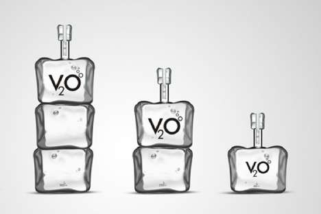 V2O Vodka Packaging
