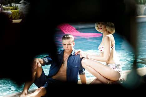 Versace for H M Cruise 2012 campaign