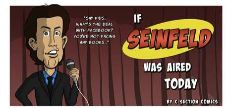 If Seinfeld Was Aired Today Comic