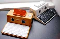 Retro Computer-Inspired Docks - The iPad iStation is a Throwback Tribute to Apple