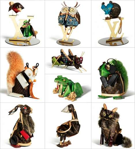Louis Vuitton animal collection