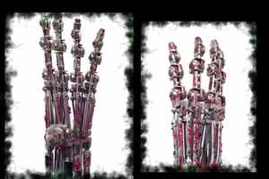 Terminator 2 Animatronic Endoskeleton Arm is One Epic Creation