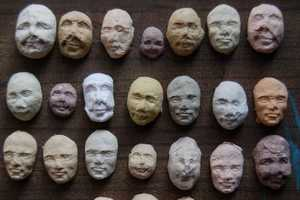Seed Faces by Kesley Pike Add Personality to Any Garden Pot