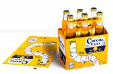 Board Game Beer Branding - This Corona Board Game Concept Enhances Social Drinking