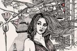 Lindalovisa Fernqvist Illustrates Chic Carefree Females
