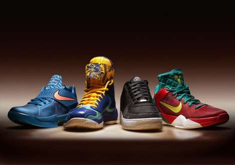 Chinese Zodiac Hoop Kicks - Nike Sportwear 'Year of the Dragon' Pack Pays Homage to the Orient