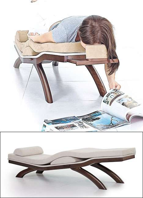 Facedown furniture