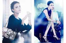 Elegantly Ethereal Ads - The Christian Dior SS12 Campaign Stars an Angelic Mila Kunis