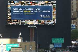 Prudential 'Day One' Project Collage is Displayed Over NYC Tunnel