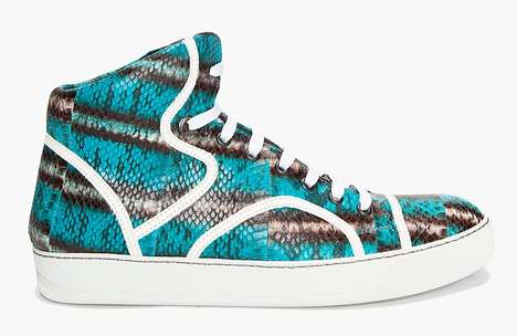 Lanvin Water Serpent Sneakers