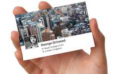Custom Social Media Selfvertising - Facebook Cards Lets Users Enhance Offline Business Networking