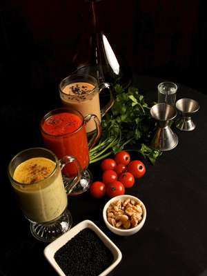 Hearty Alcoholic Broths - Bryant Park Hotel Introduces Three Seasonal Cellar Bar Soup Cocktails