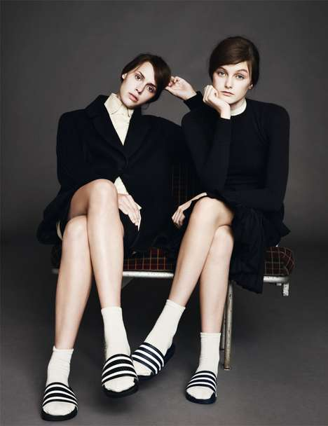 b Magazine Afternoon Sisters